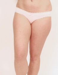 """Embroidered lace pantie """"Boule qui chamboule"""""""