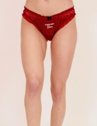 "Embroidered pantie ""Saturday Night Fever"""