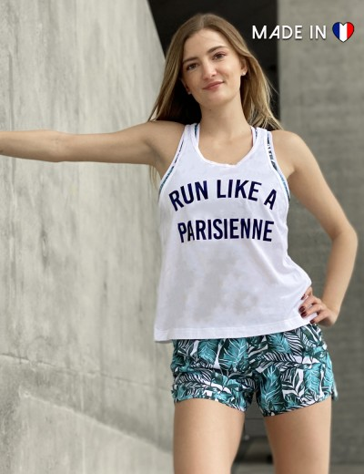 Débardeur Run like a Parisienne