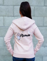 Zipped jacket NAMASTE