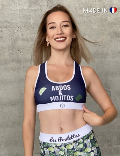 Sports Bra Mojitos