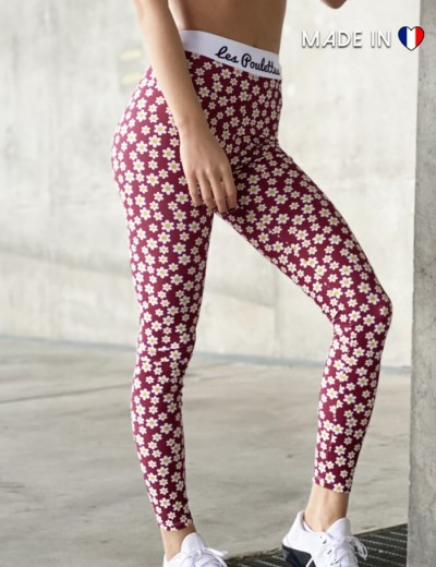 Legging long Pâquerettes