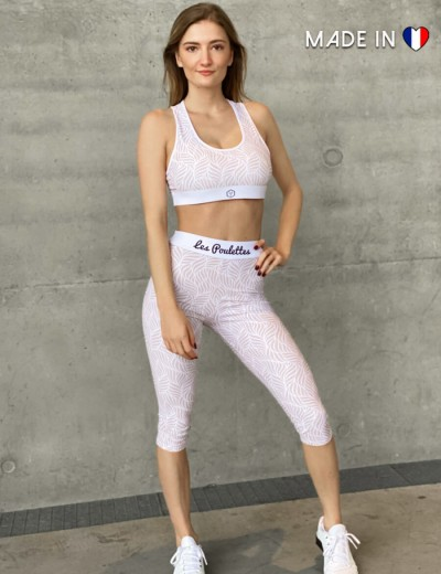 3/4 Sports Leggings Pastel