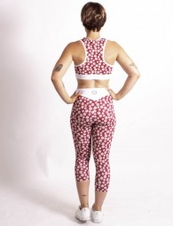 Short Sports Leggings Daisy