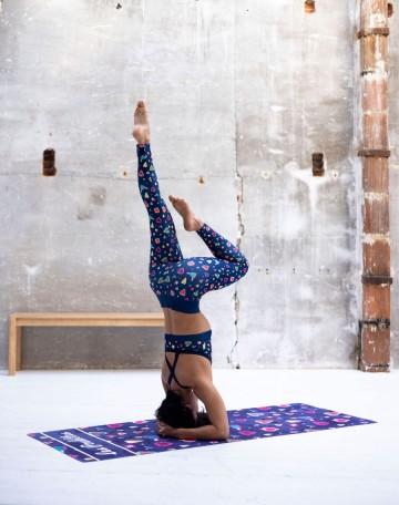 dd5da5bed14d7 Legging sport femme original motif tropical - Les Poulettes Fitness