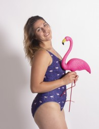 Maillot de bain Flamants roses