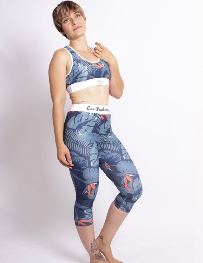 3/4 Sports Legging Jungle