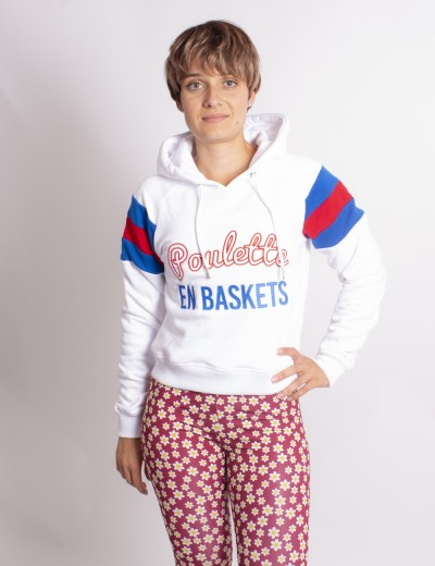 Sweat Poulette en Basket